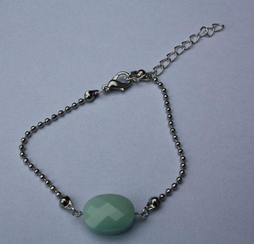 Armband steen groen