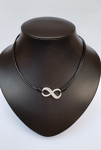 ketting infinity zwart