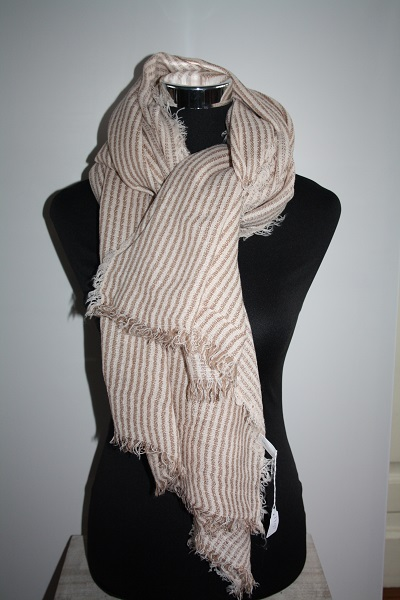 Gestreepte sjaal 2