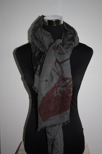 Grijze Parijs sjaal