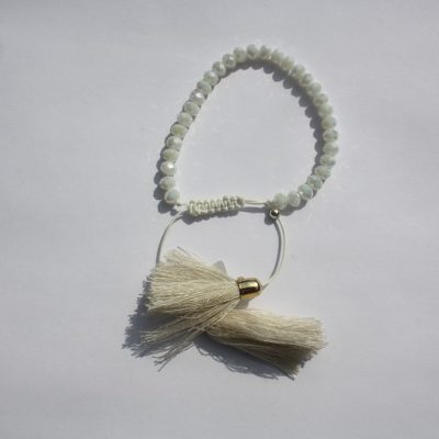 kralenarmbandje wit