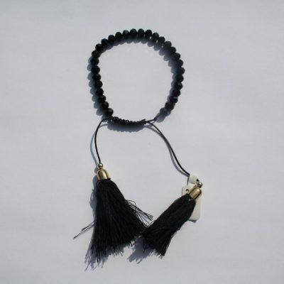 kralenarmbandje zwart