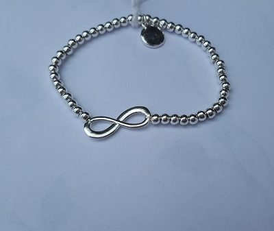 RVS armbandje infinity