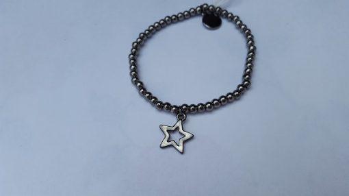 RVS armbandje met ster