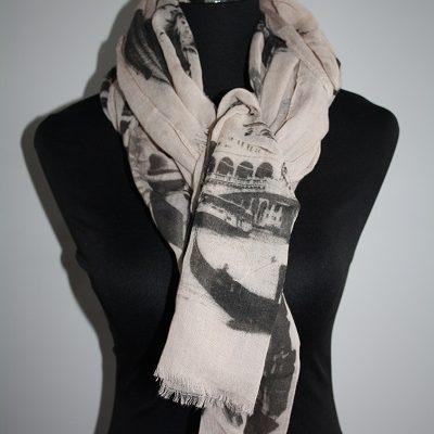 Roze Italie sjaal