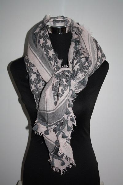 Roze ster sjaal