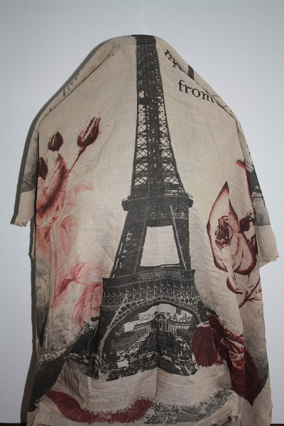 Zand Parijs sjaal foto 2