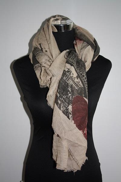 Zand Parijs sjaal