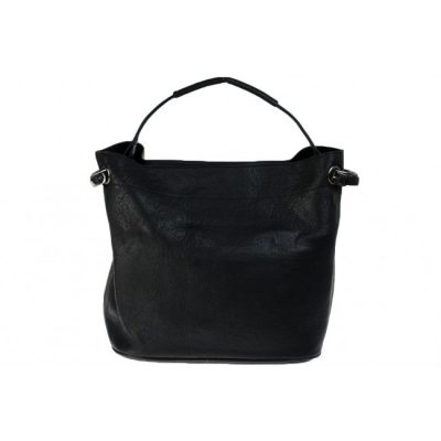 bag in bag shopper vol zwart