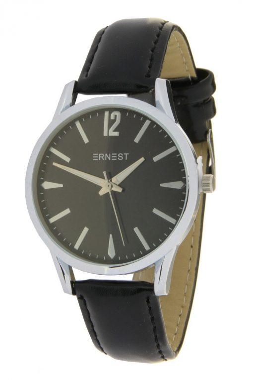 Horloge zilver zwart