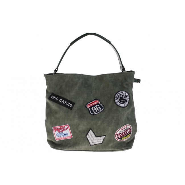 Tas canvas look