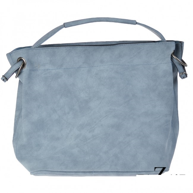 bag in bag shopper licht blauw