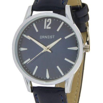 horloge blauw-zilver