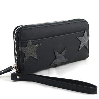 Zwarte Sterren portemonnee