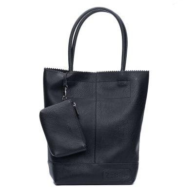 Zebra bag - black