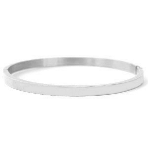 Armband Stainless Steel zilver
