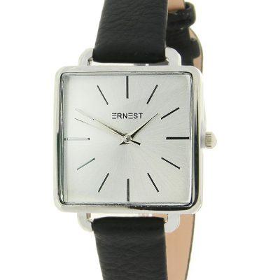 horloge vierkant zwart