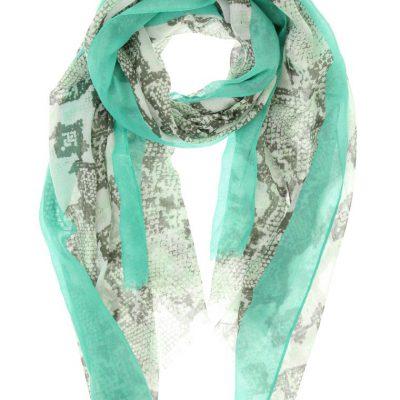 sjaal snake mint