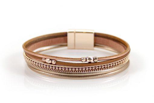 Rose goudkleurige speelse armband